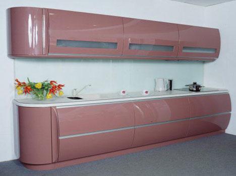 Радиусные кухни фото